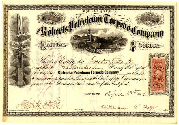 Scripophily Certificates Bond Certificates Autographs – Example of Share Certificate