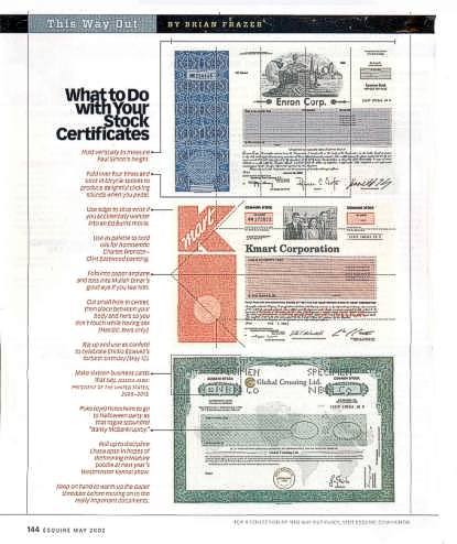 Scripophily News - Stock Certificate and Bond Certificate Collecting ...