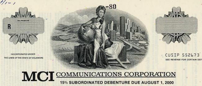 mci communications corp Learn about working at mci telecommunications corporation join linkedin  today for free see who you know at mci telecommunications corporation,.