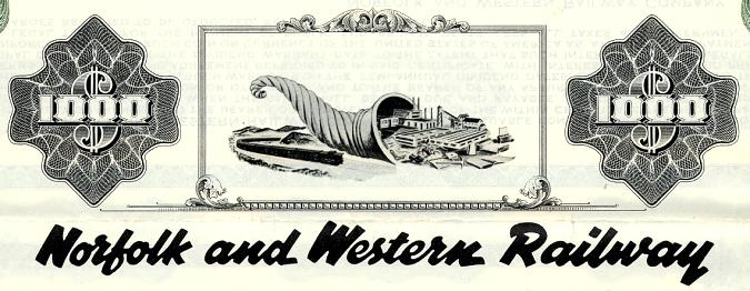 Norfolk and Western Railway Equipment Trust - Pennsylvania 1957